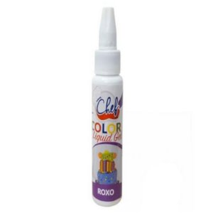 CORANTE COLOR LIQUID GEL ROXO 25G - ICEBERG CHEF