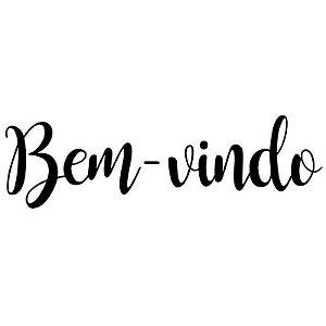 TRANSFER PARA BALÃO P - BEM VINDO  - PRETO - CROMUS BALLOONS