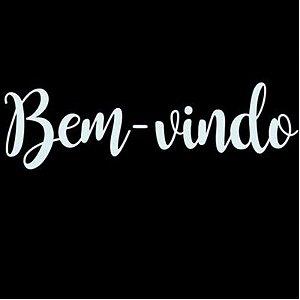 """TRANSFER PARA BALÃO P - BEM VINDO - 12"""" A 18"""" - 01 UNIDADE - CROMUS BALLOONS"""