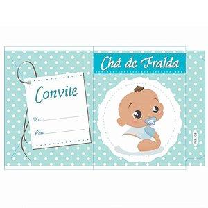 CONVITE CHÁ FRALDA  REF 338 - 10 UNIDADES - KID - ART