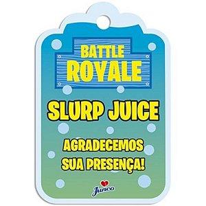 TAG DE AGRADECIMENTO FESTA BATTLE ROYALE - 08 UNIDADES - JUNCO