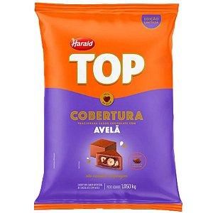 COBERTURA FRACIONADA SABOR CHOCOLATE COM AVELÃ - 1,050KG - 01 UNIDADE - HARALD