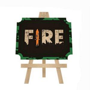 LOUSA DECORATIVA FESTA FREE  FIRE - 01 UNIDADE - GRINTOY