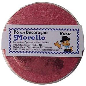 PÓ PARA DECORAÇÃO - BRILHO ROSA - 5G - MORELLO