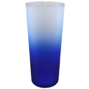 COPO LONG DRINK DEGRADÊ AZUL - 01 UNIDADE - MAR PLÁSTICOS