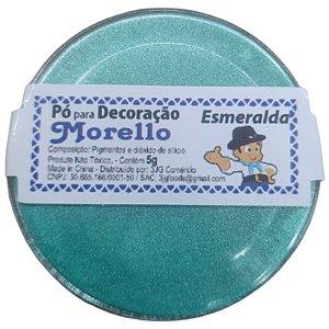 PÓ PARA DECORAÇÃO  ESMERALDA - 5G - MORELLO