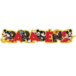 ENFEITE  PARABÉNS FESTA  MICKEY - REF 302049 - 01 UNIDADE - PIFFER