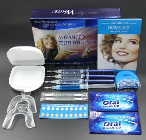 Kit Profissional de Clareamento Dental a Laser - Home Kit com 35% Peróxido de Carbamida