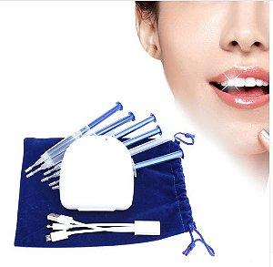 Kit Mega Brilho de Clareamento Dental a laser - conexão celular- Lançamento 2017