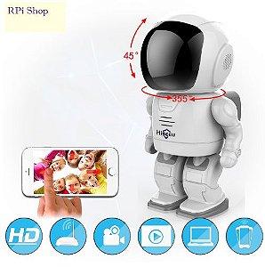 Robô Espião IP com Wi Fi e TF Card