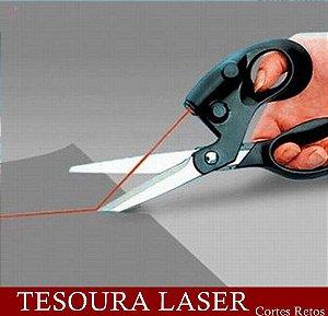 Tesoura Laser - Cortes retos e Precisos