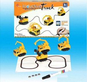 Carrinho de brinquedo Pista Mágica - Indutivo sem bateria