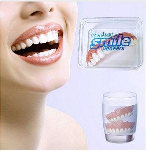 Prótese Sorriso Perfeito - Magic Smile Veneers - Dentes Perfeitos