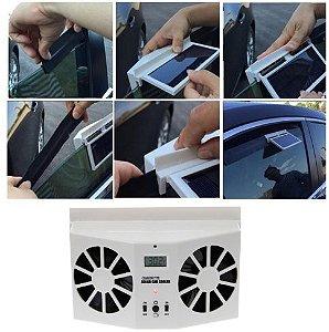 Ventilador de Janela Refrigerador automotivo movido a energia solar