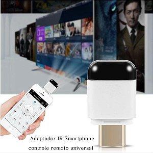 Adaptador InfraVermelho Universal Controle Remoto Smartphone - Para ar condicionado, TV, projetores e etc..