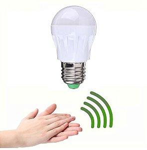 Lâmpada Ativada por Palmas - Sensor de Som