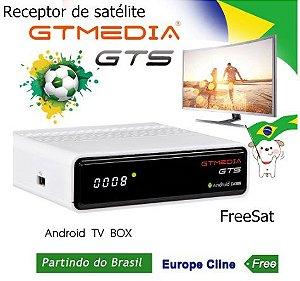 Receptor de Satélite GTMedia FreeSat - DVB-S2 Android 6.0 4K