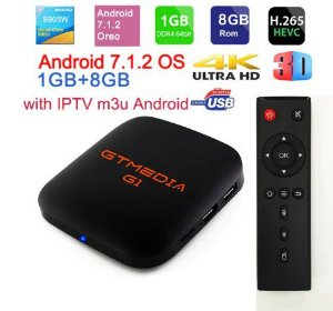 TV Box IPTV Brasil Conversor Smart Tv 4K Android Wi Fi