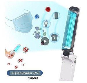 Esterilizador UV Portátil Dobrável