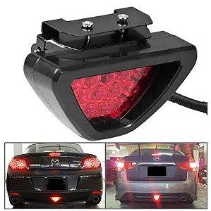 Brake Light F1  - Luz de Freio Universal Strobo Flash Anti Colisão - Estilo carro de corrida Fórmula 1