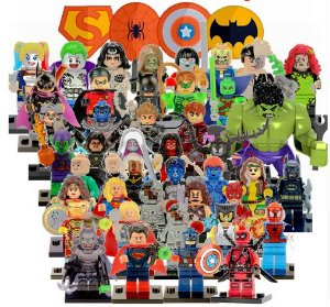 Lego Super Heróis / Kit com Personagens