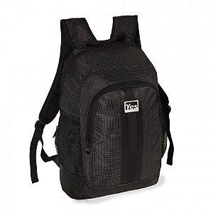 Mochila para Notebook - 1 Div. Linha Premium - YES MC1516N PRETA