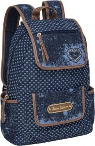 Mochila para Notebook Love Storm Jeans - TN Bolsas 13016