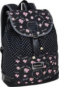 Mochila para Notebook Florence Preta - TN Bolsas 13017