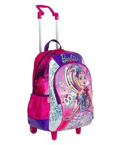 Mochilete Grande Barbie Aventura nas Estrelas 064736-08