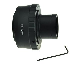 Adaptador Gosky T T2 Mount Olympus M4/3 Câmeras P/telescópio