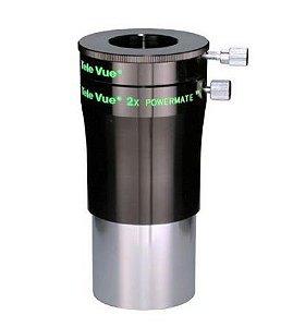 Televue 2x Powermate 2pol P/telescópio C/ Adaptador 1,25pol