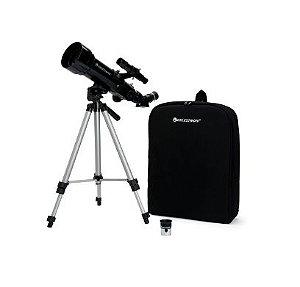 Telescópio Celestron Refrator 70mm C/ Mochila P/ Transporte