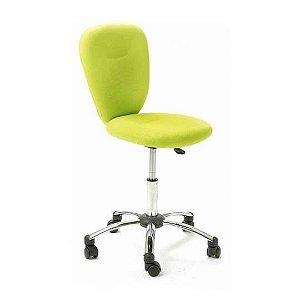 Cadeira Giratória Colorida Pezzi Verde - Inter Link