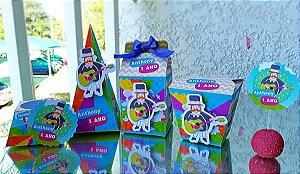 Kit festa Mundo Bita- 50 itens * Leia a Descrição*