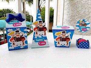 Kit festa Mundo Bita Azul * Leia a Descrição*