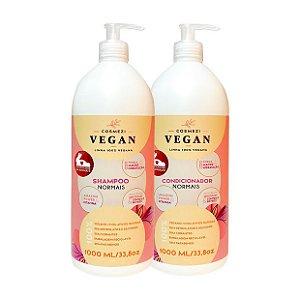 Kit Vegano para Cabelos Normais | Cosmezi