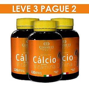 Tratto Saúde - Cálcio + Vítamina D – 3 PRODUTOS