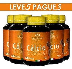 Tratto Saúde - Cálcio + Vítamina D – 5 PRODUTOS