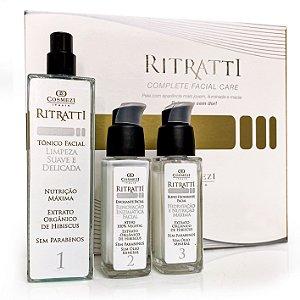 Kit Ritratti 30 | Esfoliação Facial sem dor nem vermelhidão
