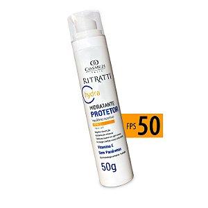 Protetor Solar Facial com FPS 50+ - Ritratti Hydra50g