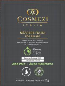 Máscara Facial Pós balada –Aloe Vera + Acido Hialurônico