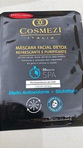 Máscara Facial DETOX- efeito ANTIOXIDANTE+ GLUTATIONA