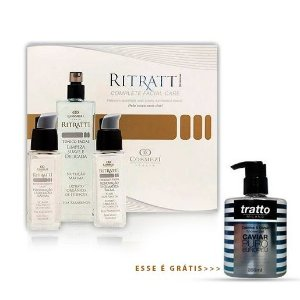 Ritratti - Kit Ritratti 30 | Pele Nova Sem Dor + Shower Gel Caviar Puro Europeu