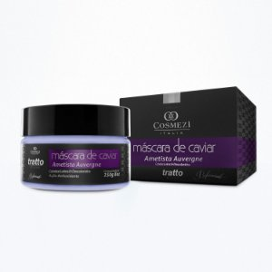 Mascara de Caviar Aminoplex - Ametista - Reconstrução e Hidratação para Cabelos Descoloridos 250g