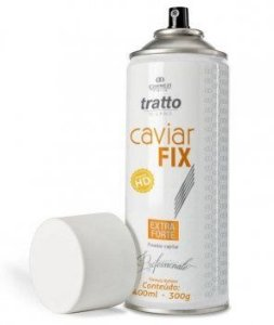 Fixador Caviar Fix Extra Forte Tratto 400 ml - 24 horas