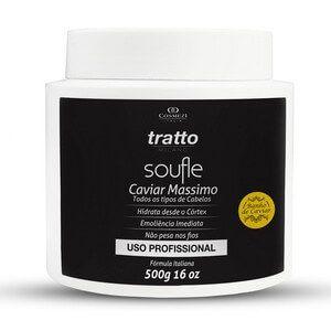 Condicionador Profissional Soufle Caviar Massimo - Hidratação e Emoliência Máxima 500g.
