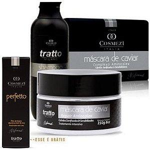 Tratto - Promoção de inverno | Kit Banho de Caviar grátis Perfetto