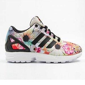Tênis Adidas ZX Flux Women Floral - FARM 2016
