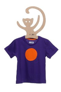 T-Shirt Max Uva Circulo Laranja