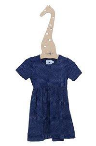 Vestido Lurex Azul